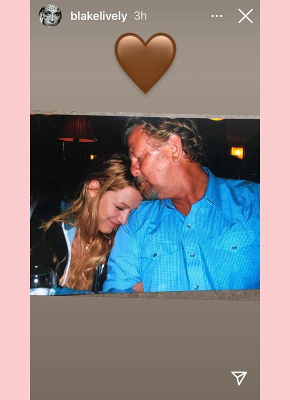 Blake Lively Instagram Story Father Ernie Tribute
